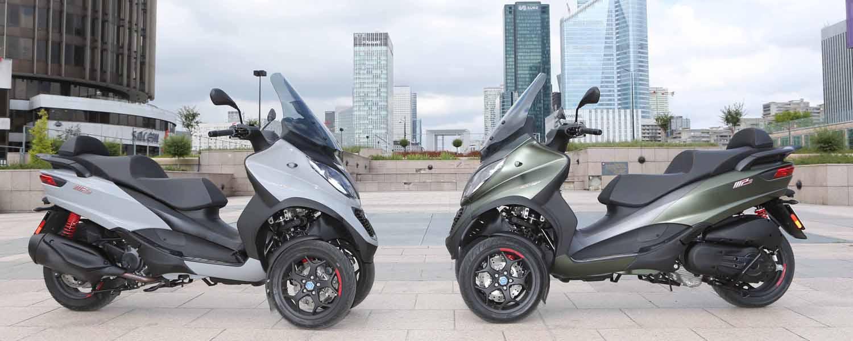 2019 Piaggio MP3 Sport 500: 3-Wheel Scooter Arrives in USA