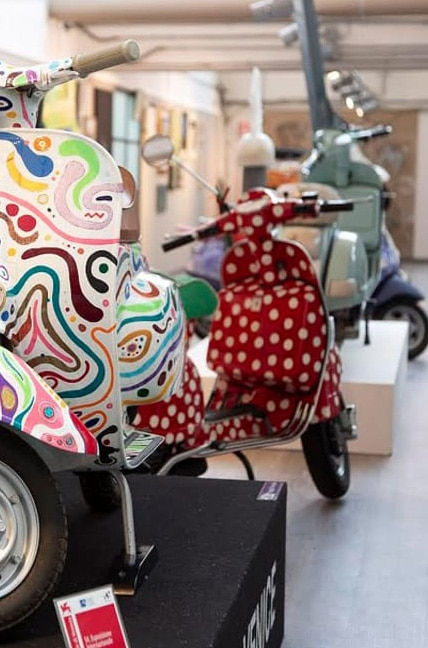 THE PIAGGIO MUSEUM GOES BEYOND VESPA, IS SIGNIFICANTLY UPDATED AND EXPANDED IN TERMS OF THE SIZE AND SCALE OF ITS COLLECTIONS, BECOMING THE LARGEST MOTORCYCLE MUSEUM IN ITALY AND ONE OF THE BIGGEST IN EUROPE