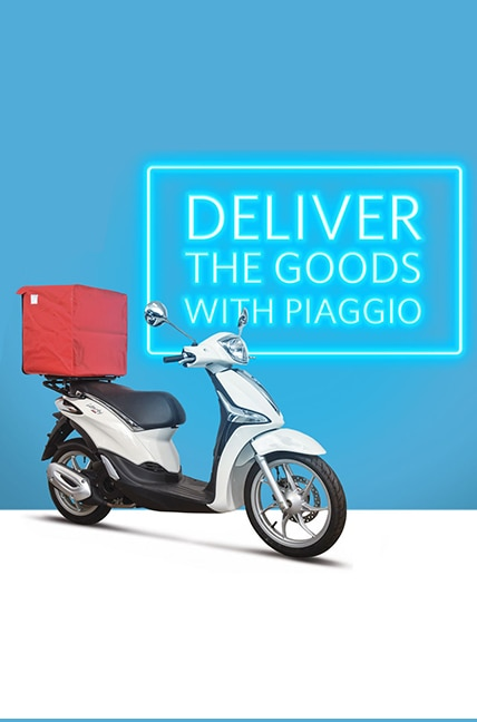 WE'VE GOT THE DELIVERY SCOOTER FOR YOU
