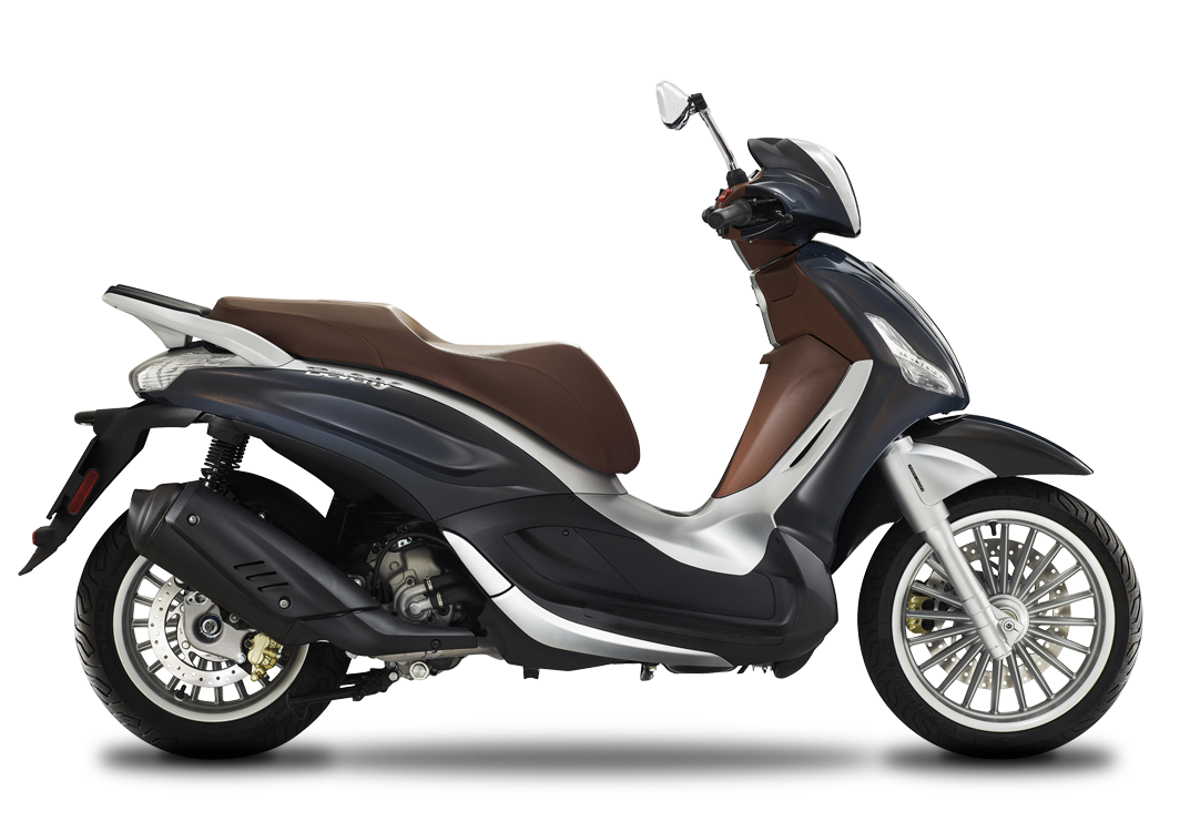 Piaggio Beverly 300 Blu Rame Color Range 19