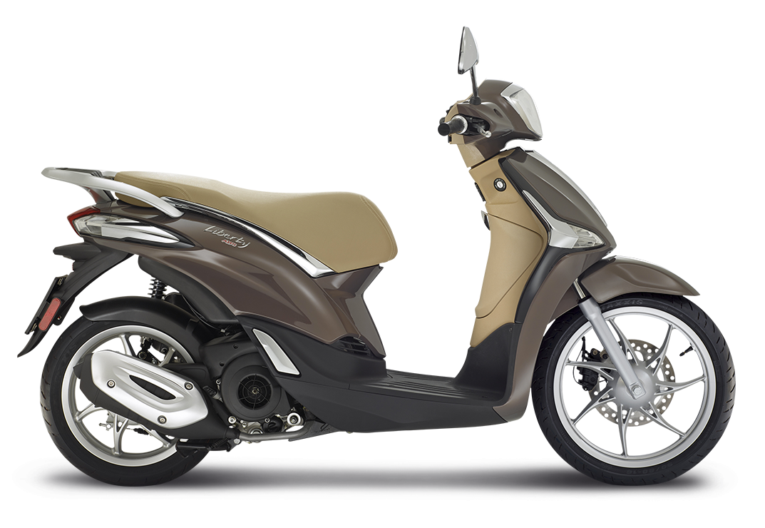 Liberty125 Lateraledx Marrone