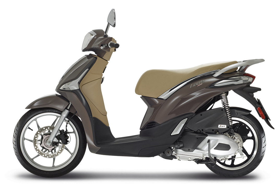 Liberty125 Lateralesx Marrone