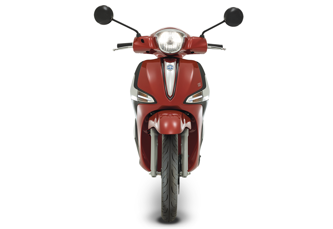 Liberty125s Frontale Rossoibis